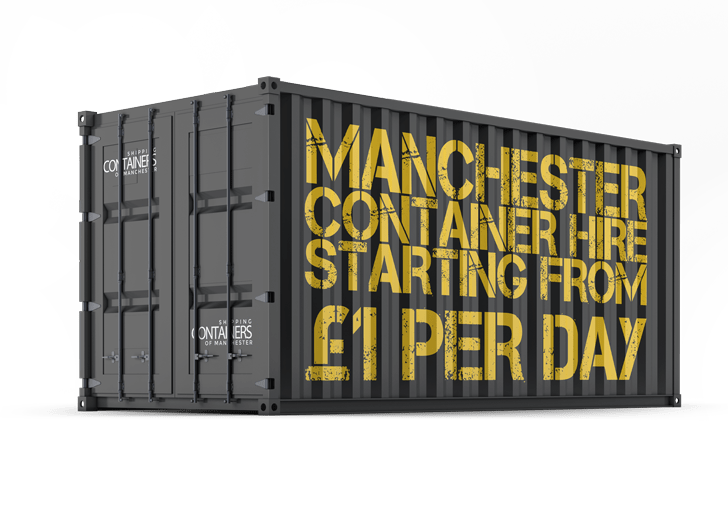 Cheap container hire in manchester
