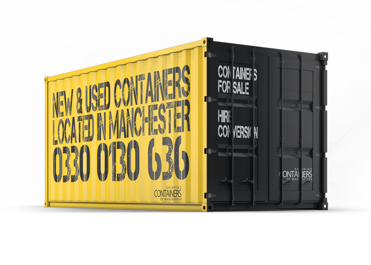 New and used containers in Manchester